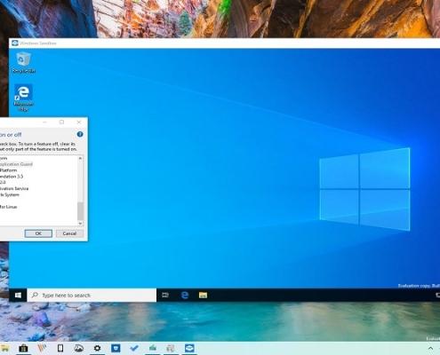 Windows Sandbox چیست؟ نحوه نصب ویندوز سندباکس