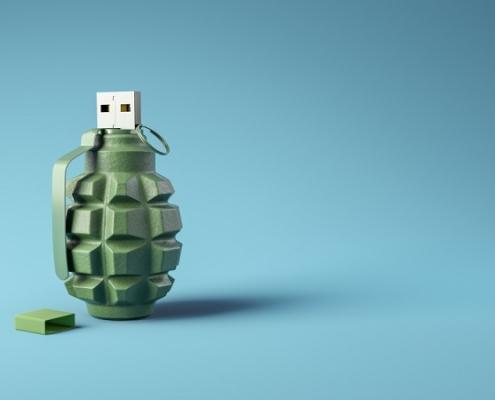 تهدیدات دیسک های USB از ماینرها تا بدافزارها