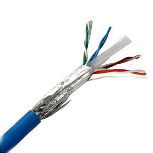 کابل شبکه لگراند Cat6 SFTP روکش PVC حلقه 500 متری تست فلوک پرمننت