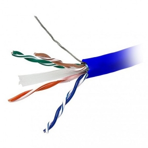 کابل شبکه لگراند Cat6 UTP روکش LSZH حلقه 305 متری تست فلوک پرمننت