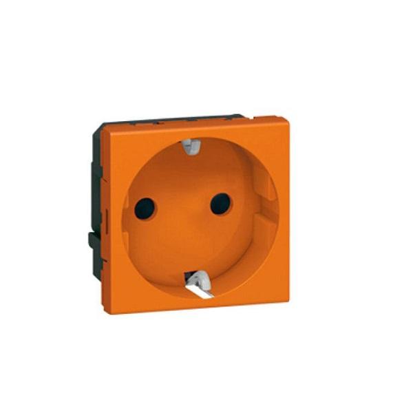 پریز برق 45*45 نارنجی دانوب