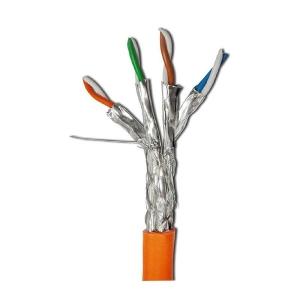 کابل شبکه نگزنس Cat7 S/FTP روکش LSZH حلقه 500 متری تست فلوک پرمننت