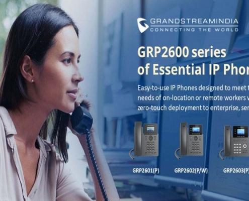 آشنایی با IP Phone های سری GRP2600